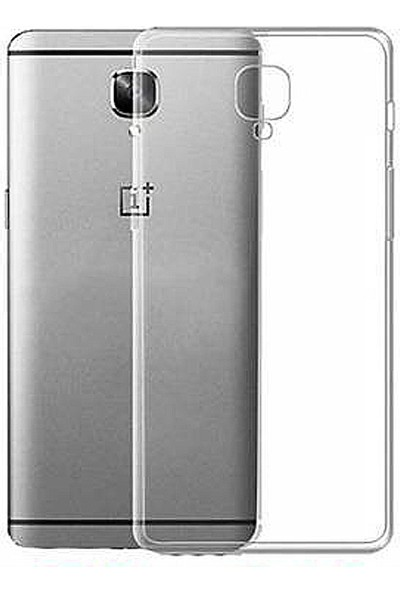Microcase Oneplus 3 Ultra İnce 0.2 mm Soft Silikon Kılıf - Şeffaf