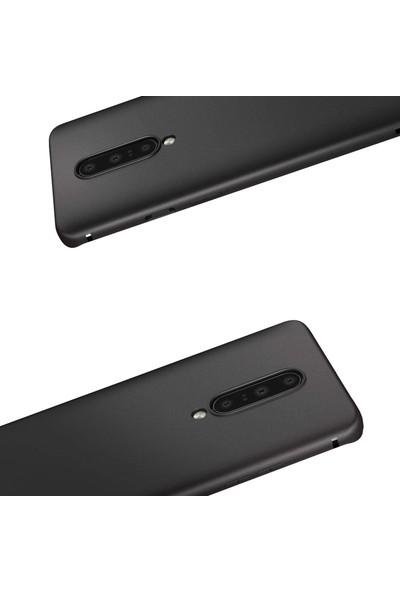 Microcase Oneplus 7 Pro Elektrocase Serisi Silikon Tpu Kılıf - Siyah