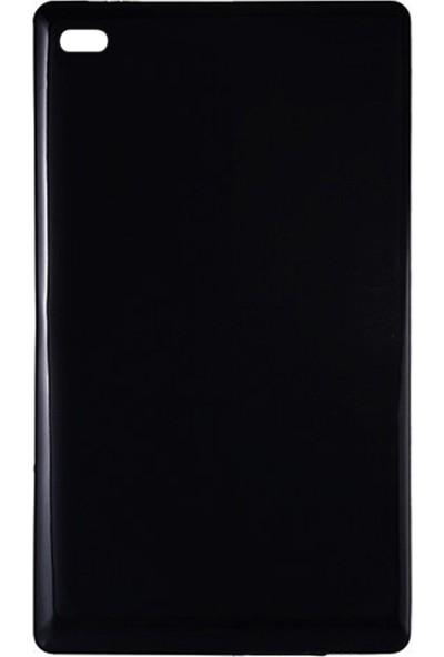 "Microcase Lenovo Tab E7 TB-7104F 7"" Tablet Silikon Soft Kılıf - Siyah"