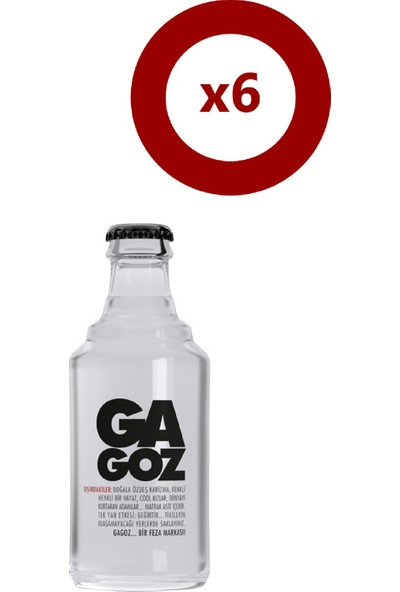 Gagoz Cam 250 ml 6'lı
