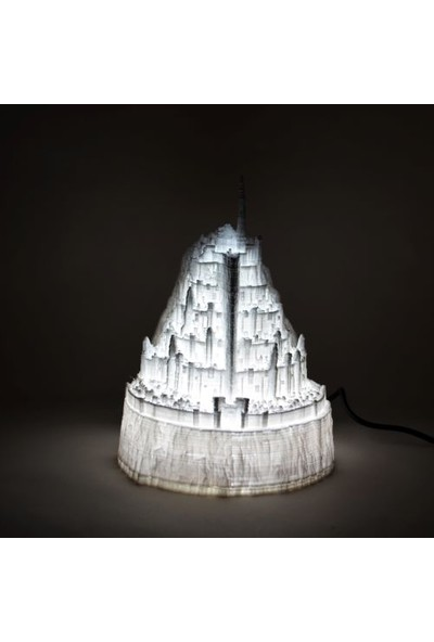Minda Minas Tirith Yüzüklerin Efendisi LED Masa Lambası