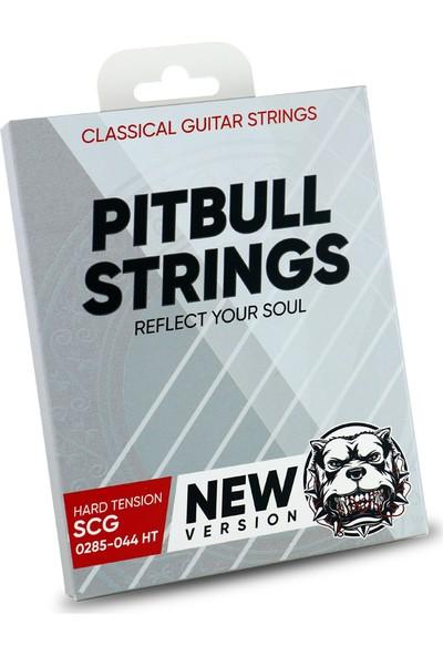 Pitbull Strings Silver Series New Version 0285-044 High Tension Takım Tel Klasik Gitar Teli
