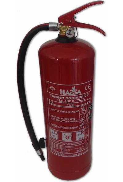 Hassa 6 kg ABC Yangın Söndürme Tüpü