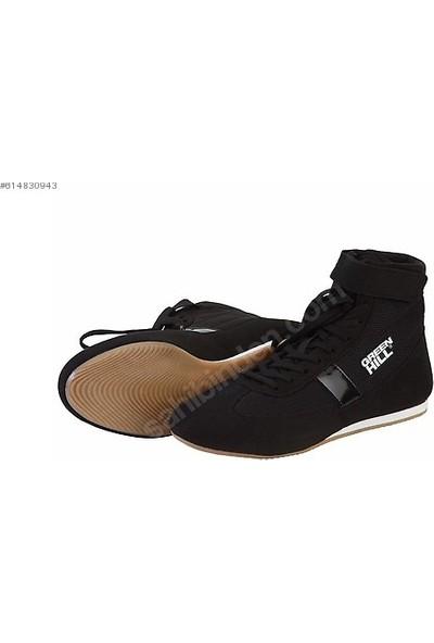 Green Hill Profesyonel Güreş Ayakkabısı Siyah