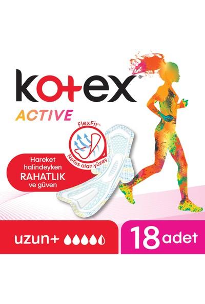 Kotex Active Quadro Uzun 18'li