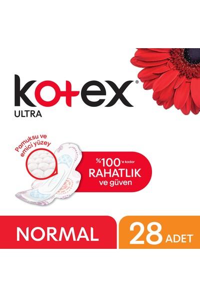 Kotex Ultra Normal Hijyenik Ped (28 Adet) - Süper Ekonomik Paket