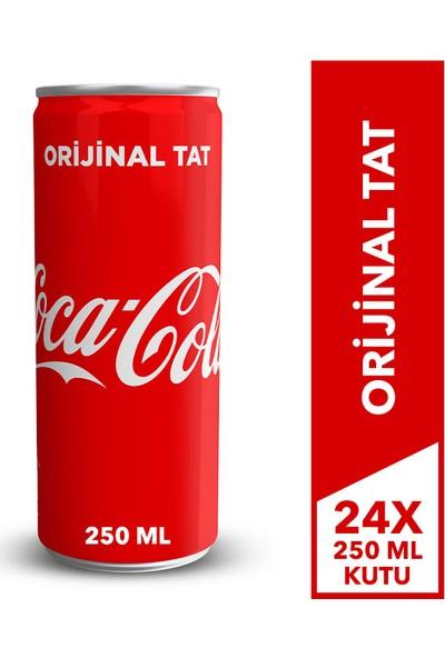 Coca-Cola 250 ml Kutu 24'lü Paket