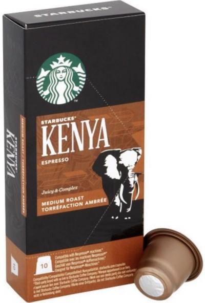 Kenya Nespresso Uyumlu Kapsül Kahve 10' Lu Paket