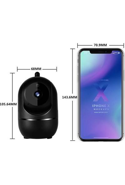 Triline IPC12 Mini Ip Kamera 1mp Hd Wifi Hareketli Güvenlik Kamerası - Beyaz