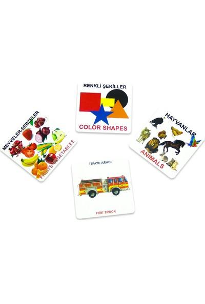 Fisher Kids Eşleştirme Oyun Seti 140 Parça Türkçe-Ingilizce
