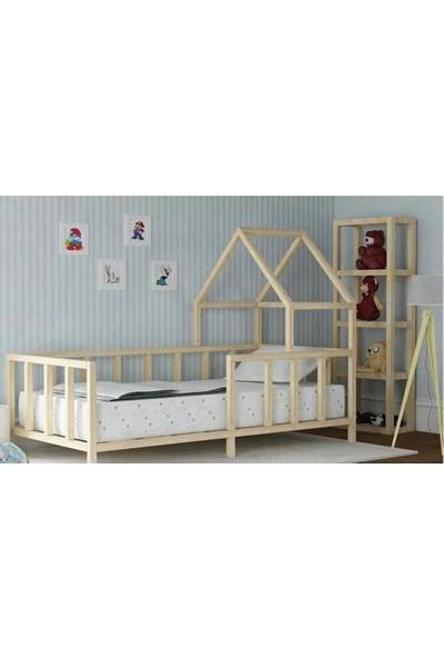 Okba Montessori Yatak Kenar Korumalı Çift Çatılı Model