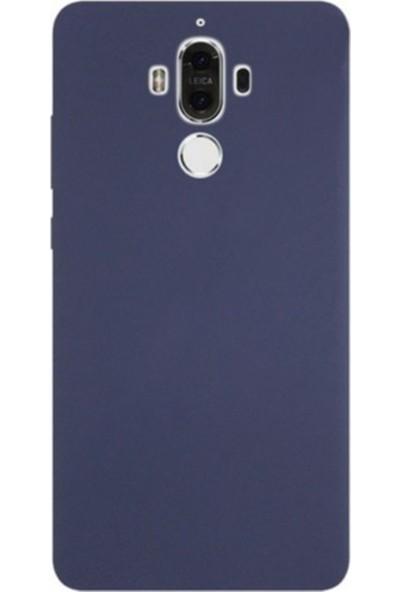 Kaltel Gsm Huawei Mate 9 Mat Premier Silikon Kılıf - Lacivert