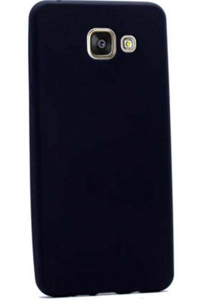 Kaltel Gsm Samsung Galaxy A5 2016 Mat Premier Silikon Kılıf - Siyah