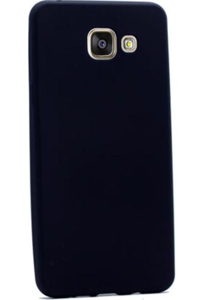 Kaltel Gsm Samsung Galaxy A7 2016 Mat Premier Silikon Kılıf - Siyah