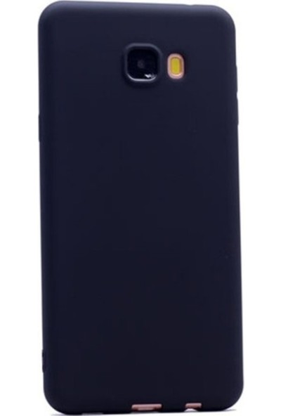 Kaltel Gsm Samsung Galaxy C9 Pro Mat Premier Silikon Kılıf - Siyah