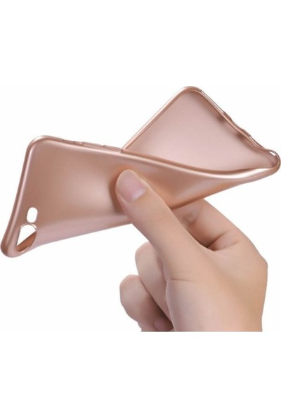 Kaltel Gsm Sony Xperia Z4 Mat Premier Silikon Kılıf - Gold