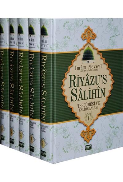 Riyazus Salihin Tercümesi ve Kelime Anlamı (5 Cilt Takım) - İmam Nevevi