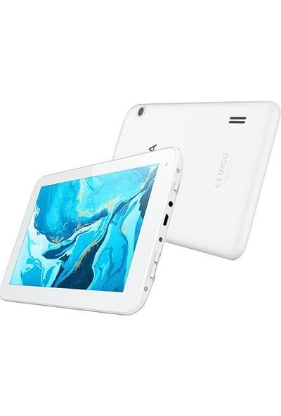 "Hometech Alfa 7RS 16GB 7"" IPS Tablet Beyaz"