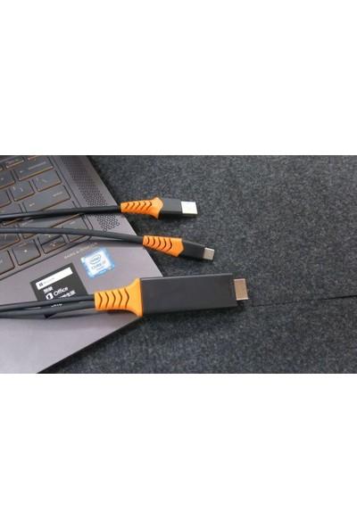 Mobitell 4K/2K Type-C/USB To HDMI Dönüştürücü Adaptör