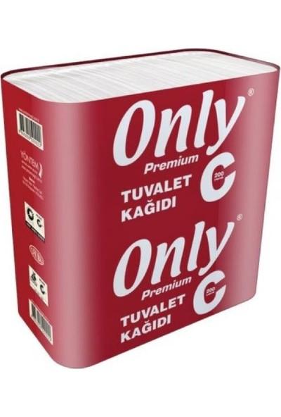 Only C Katlama Tuvalet Kağıdı 200 Yaprak 36 Paket