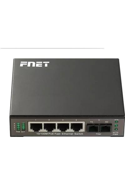 FPS-1205PF-S20-SC 4 100M Poe + 1 100M Fx