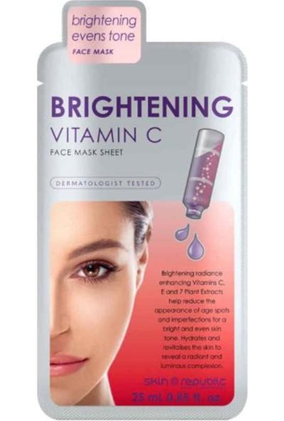 Skin Republic Brightening Vitamin C Yüz Maske 25 ml