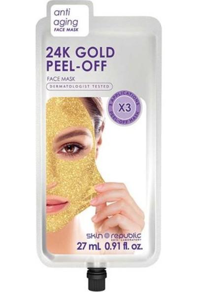 Skin Republic 24 K Gold Peel-Off Yüz Maskesi 27 ml