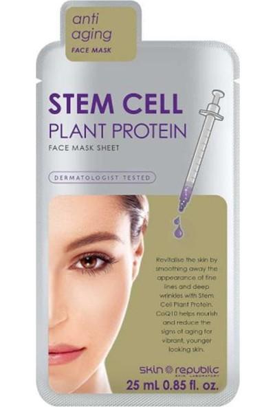 Skin Republic Stem Cell Plant Protein Yüz Maskesi 25 ml