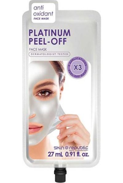 Skin Republic Platinum Peel Off Soyulabilir Maske 27 ml