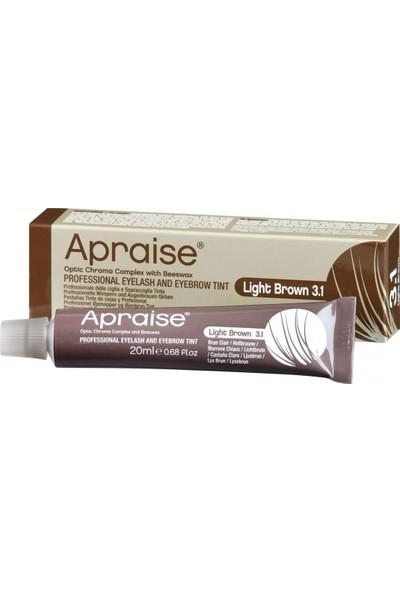 Apraise Light Brown 3.1 Kaş ve Kirpik Boyası 20 ml