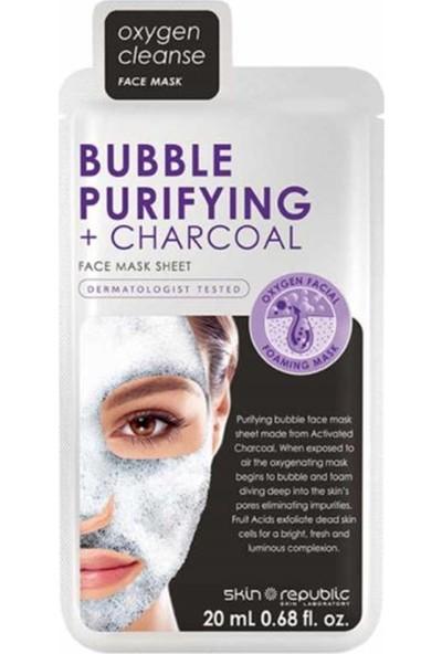 Skin Republic Bubble Purifying Kömür Yüz Maske 25 ml