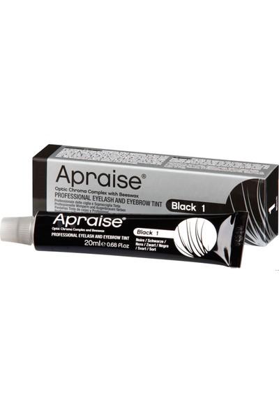 Apraise Black 1 Kaş ve Kirpik Boyası 20 ml