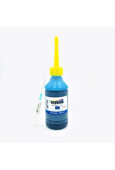 Asyaink Epson L1300-L1800 Yazıcı Uyumlu Mürekkep - Mavi