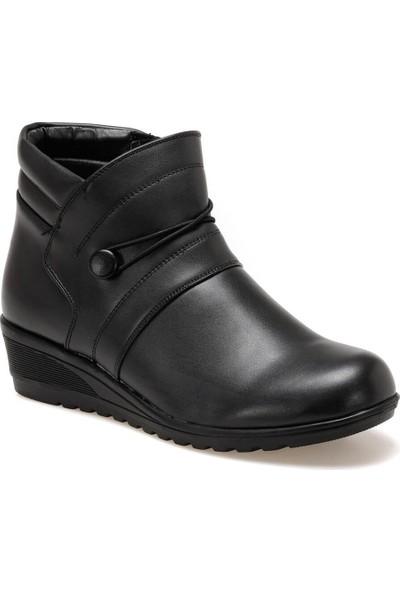 Polaris 92.150365.Z Siyah Kadın Sandalet