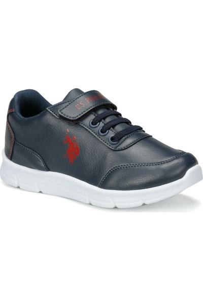 U.S. Polo Assn. Berry 9Pr Lacivert Erkek Çocuk Yürüyüş Ayakkabısı