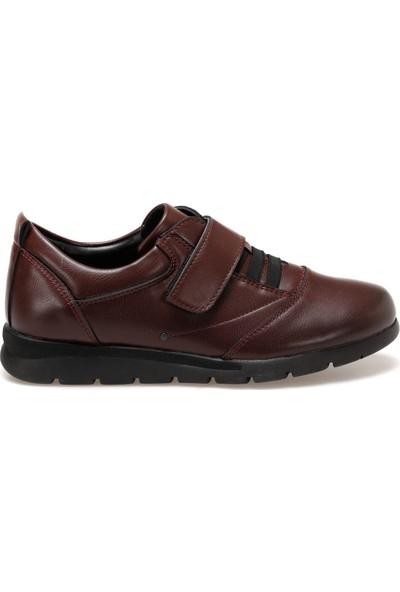 Travel Soft Trv920094 Bordo Kadın Sneaker Ayakkabı