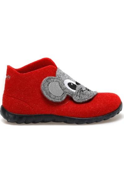 Superfit 8-00294-71 Kırmızı Kız Çocuk Panduf