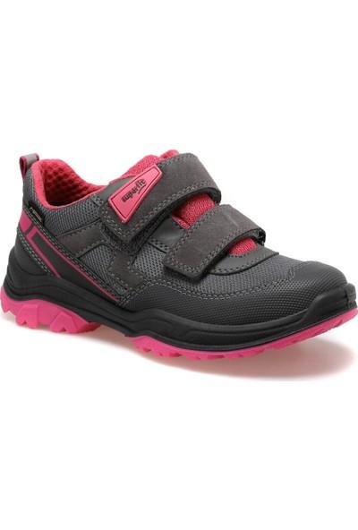 Superfit 5-09064-21 Gri Kız Çocuk Ayakkabı
