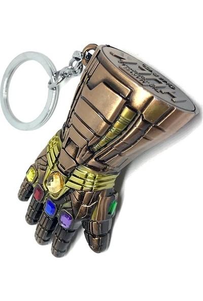 Gamerloot Sonsuzluk Eldiveni Hulk Yumruk Bronz Metal Anahtarlık