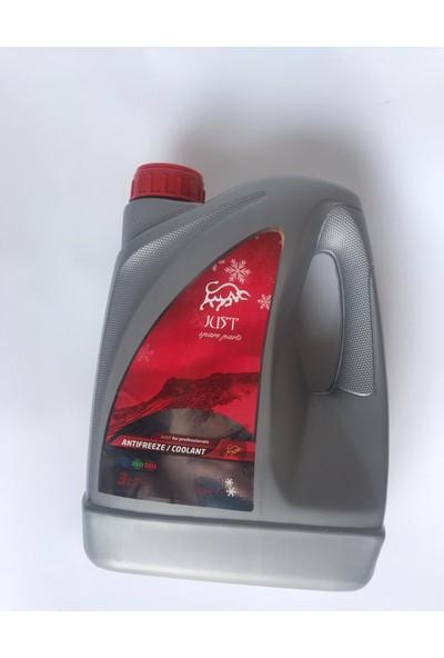 Just Antifriz Organik Kırmızı -52 3 Litre 2019 Üretim