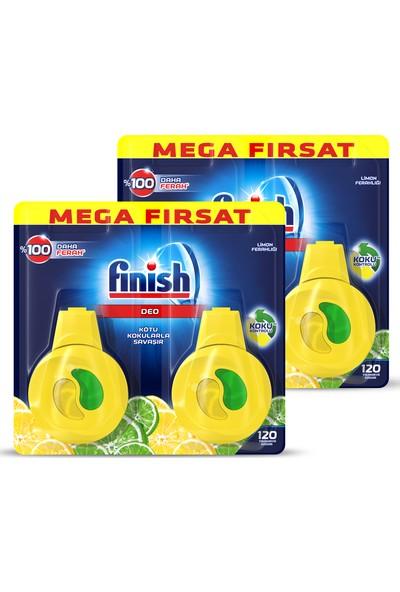 Finish Bulaşık Makinesi Kokusu Limon 2x2'li