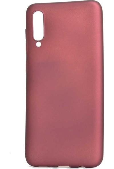 Tbkcase Meizu 16XS Kılıf Lüks Silikon Bordo