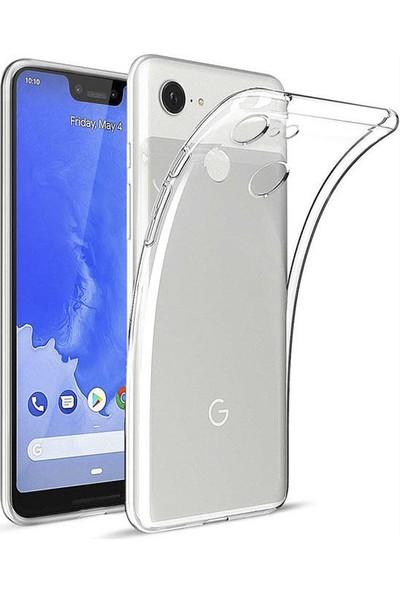 Microcase Google Pixel 3 XL Ultra İnce 0.2 mm Soft Silikon Kılıf - Şeffaf