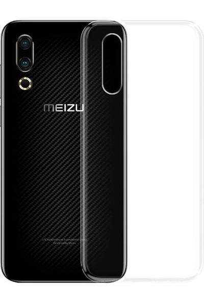 Microcase Meizu 16S Ultra İnce 0.2 mm Soft Silikon Kılıf - Şeffaf