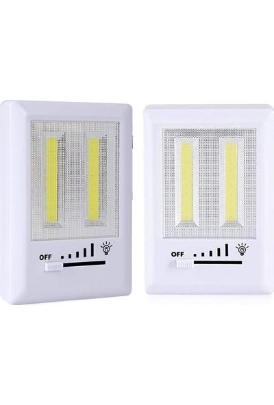 """""""Yopigo Çok Amaçlı Yapışkanlı LED Kamp Feneri 3W Işıldak """""""