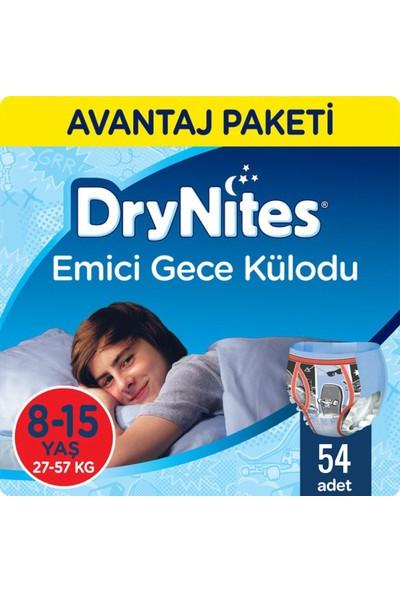 Huggies Drynites Erkek Emici Gece Külodu 8-15 Yaş 54'lü