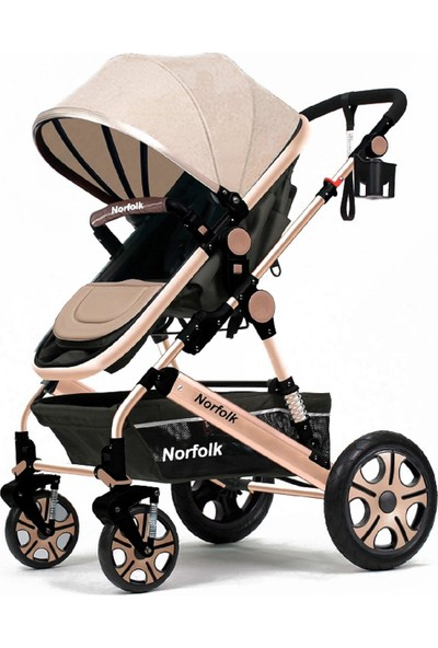 Norfolk Baby Voyage Comfort Air Luxury Çift Yönlü Bebek Arabası - Çift Amörtisörlü