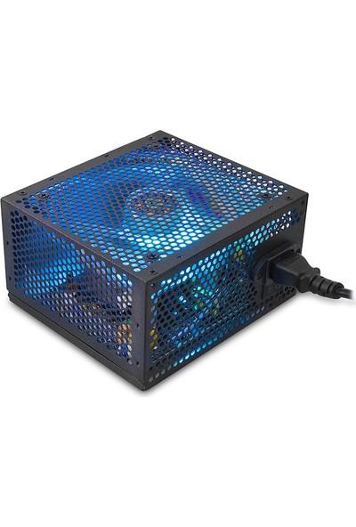 Everest RGB-450A Real-400W Peak 450W 12cm RGB LED Fanlı Power Supply