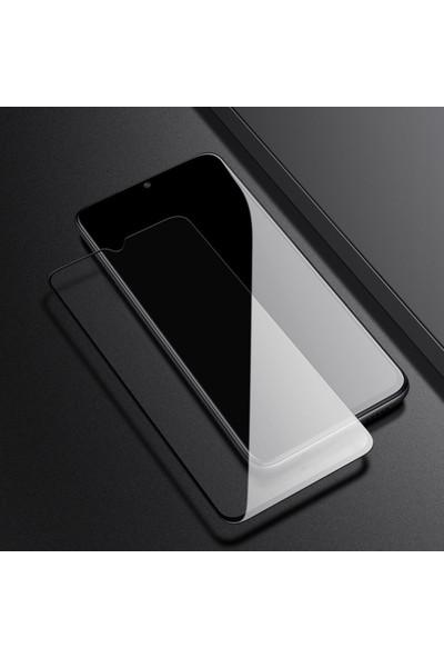 Microsonic Xiaomi Redmi Note 8 Tam Kaplayan Temperli Cam Ekran Koruyucu Siyah