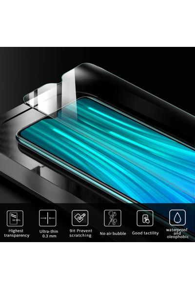 Microsonic Xiaomi Redmi Note 8 Pro Temperli Cam Ekran Koruyucu Şeffaf